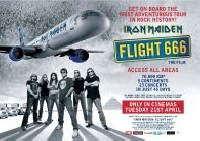 "Iron Maiden - Iron Maiden - ""Flight 666"" am 21.4. in deutschen Kinos"