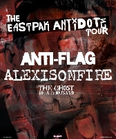 Eastpak Antidote Tour, Anti-Flag, alexisonfire, Four Year Strong, The Ghost of A Thousand - Eastpak Antidote Tour 2009 startet in Berlin
