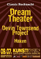Dream Theater, Haken, Devin Townsend Project