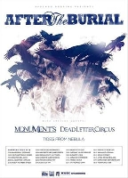 Monuments - Tour mit After the Burial und Dead Letter Circus!