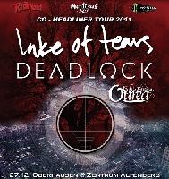 Lake of Tears, Deadlock, Lights Finding Ourea - Lake of Tears / Deadlock: Co-Headliner-Tour zum Jahresende