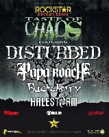 Halestorm, Buckcherry, Papa Roach, Disturbed