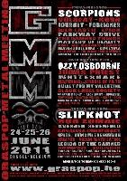 Graspop Metal Meeting - Dublin Death Patrol, All Shall Perish und Rise To Remain auf dem Graspop Metal Meeting 2011