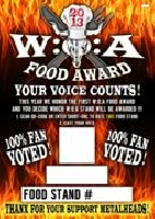 Wacken Open Air - W:O:A Food Award 2013 - die Sieger