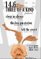 sleep in silence, the four pm station, left the crowd