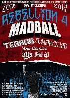 "Madball, Terror, Comeback Kid, Your Demise, The Setup, AYS - ""MAZINE REBELLION TOUR"" Vol. 4"