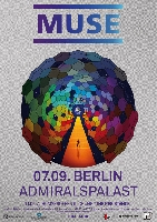 Muse - Muse - Exklusive Berliner Clubshow am 07. September