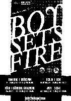 "Boysetsfire - ""20th Anniversary! - 4x3""-Tour"