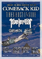 Comeback Kid, The Ghost Inside, Gravemaker, Kvelertak, Social Suicide - THROUGH THE NOISE TOUR in Europa unterwegs