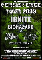 Persistence Tour, Ignite, Walls of Jericho - Persistence Tour 2009