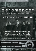 "Zeromancer, Scream Silence - Scream Silence supporten Zeromancer auf der ""Sinners International""-Tour"