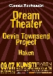 Dream Theater, Haken, Devin Townsend Project [Konzertempfehlung]