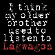 Lagwagon - I Think My Older Brother Used To Listen Lagwagon [Cd]