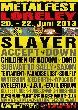 Metalfest Open Air - Metalfest 2013 auf der Loreley - Die Running Order steht [Neuigkeit]