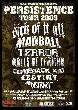 Persistence Tour - Persistence Tour feat.Biohazard,Ignite,Walls of Stereo uvm [Tourdaten]