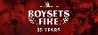 Boysetsfire - 25th Anniversary Europatournee! [Tourdaten]